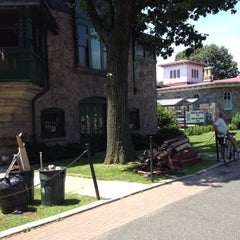 Photo taken at Boathouse Row by Helen D. on 6/3/2012