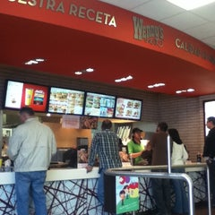 Photo taken at Wendy's by Fernanda M. on 3/4/2012