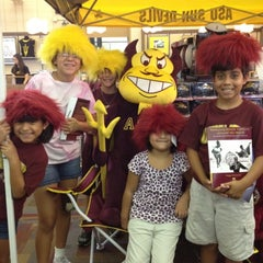 Photo taken at Sun Devil Campus Stores-Tempe Campus by Ariana R. on 7/24/2012