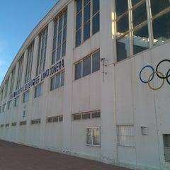 Photo taken at Pabellón Deportes La Mojonera by Sergio M. on 11/9/2011