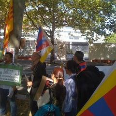 Photo taken at Generalkonsulat der Volksrepublik China by Martin K. on 10/1/2011