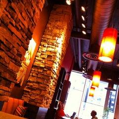Photo taken at Bourbon Coffee DC by Benjamin J. on 4/13/2012