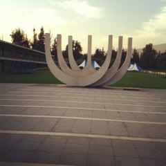 Photo taken at Sinagoga Circulo Israelita De Santiago by Benjamín H. on 3/10/2012