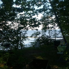 Photo taken at Searsport Shores Ocean Campground by Seth D. on 6/30/2012