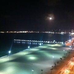 Photo taken at Avenida Beira Mar by Manoel F. on 8/31/2012