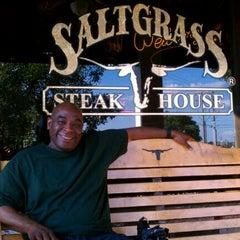 Photo taken at Saltgrass Steak House by Sandi C. on 5/12/2012