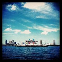 Photo taken at St. Petersburg Pier by Zach W. on 9/4/2012
