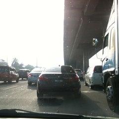 Photo taken at New Pantai Expressway (Lebuhraya NPE) by Luqman A. on 9/13/2012