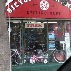 Photo taken at Bicycle X-change by Meg S. on 8/24/2012