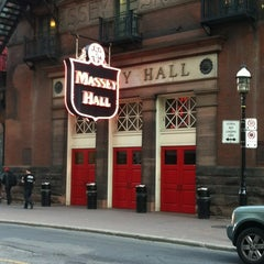 Photo taken at Massey Hall by Kathie R. on 6/1/2012