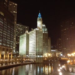 Photo taken at Chicago Riverwalk by Chris K. on 3/11/2012