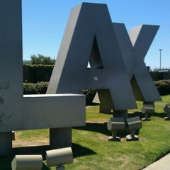 Photo taken at LAX Sign by Nancy F. on 6/27/2012