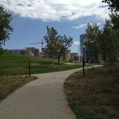 Photo taken at Confluence Park by Beth W. on 8/29/2012