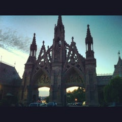 Photo taken at The Green-Wood Cemetery by Lauren T. on 6/3/2012