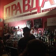 Photo taken at Pravda Vodka Bar by Cascina G. on 6/20/2012
