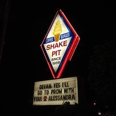 Photo taken at Shake Pit by Jonathan M. on 4/15/2012
