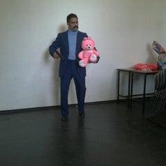Photo taken at Facultad de Teatro by Juanito H. on 9/2/2012