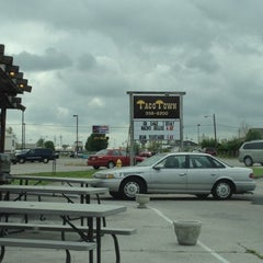 Photo taken at Taco Town by A.J. M. on 4/4/2012