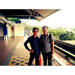 Photo taken at RapidKL Wangsa Maju (KJ3) LRT Station by Amir A. on 8/28/2012