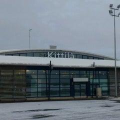 Photo taken at Kittilä Airport (KTT) by István M. on 3/17/2012