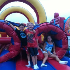 Photo taken at Inflatable Park by K S. on 8/5/2012