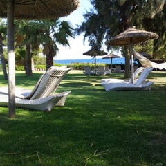 Photo taken at The St. Regis Mardavall Mallorca Resort by Victor B. on 5/20/2012