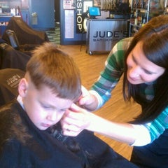 Photo taken at Jude's Barbershop by Nahum J. on 2/12/2012