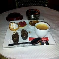 Photo taken at Café George V by Martin C. on 3/9/2012