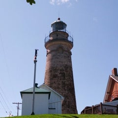 Photo taken at Fairport Harbor Marine Museum and Lighthouse by Brad B. on 8/18/2012