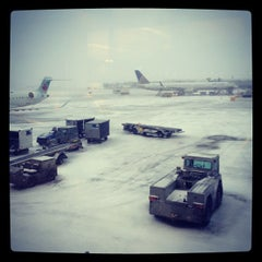 Photo taken at The hell that is ORD by Lexie K. on 2/10/2012
