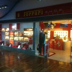 Photo taken at Ferrari Store by Eduardo M. on 3/28/2012