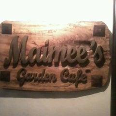 Photo taken at Maimee's Garden Café by Pio A. on 3/1/2012