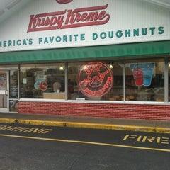 Photo taken at Krispy Kreme Doughnuts by Doug E. on 8/30/2012