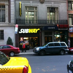 Photo taken at Subway by Olivier G. on 5/6/2012