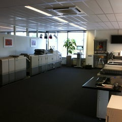 Photo taken at Ricoh Nederland by Michiel K. on 6/19/2012