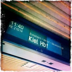 Photo taken at Bahnhof Pinneberg by Peter R. on 6/30/2012