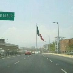 Photo taken at Distribuidor Vial Luis Cabrera by René B. on 5/5/2012