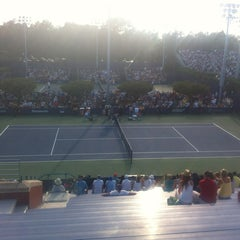 Photo taken at Court 7 - USTA Billie Jean King National Tennis Center by Nick S. on 8/29/2012
