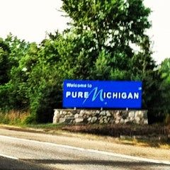 Photo taken at Michigan / Ohio State Line by Joe Z. on 7/6/2012