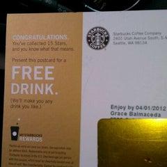 Photo taken at Starbucks by G  Race i. on 3/10/2012