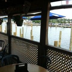 Photo taken at Harborside Bar & Grill by Jake C. on 8/21/2012