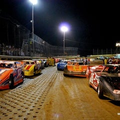 Photo taken at Moler Raceway Park by Moler R. on 7/15/2012