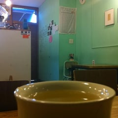 Photo taken at Cafe 봄 by Dong sung K. on 2/15/2012