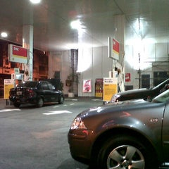 Photo taken at Shell by Patricia J. on 6/10/2012