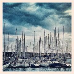 Photo taken at Porto di Catania by Valerio D. on 2/19/2012