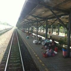 Photo taken at สถานีรถไฟ ปากช่อง by Tri K. on 6/29/2012