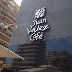 Photo taken at Juan Valdez Café by Chris S. on 3/10/2012