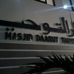 Photo taken at Masjid Daarut Tauhiid by agis andi fafa on 8/2/2012