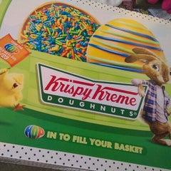 Photo taken at Krispy Kreme Doughnuts by kara O. on 3/21/2012