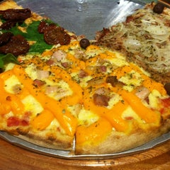 Photo taken at Patroni Pizza by Carlos F. on 5/25/2012
